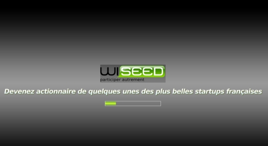 Page accueil WiSEED mars 2009