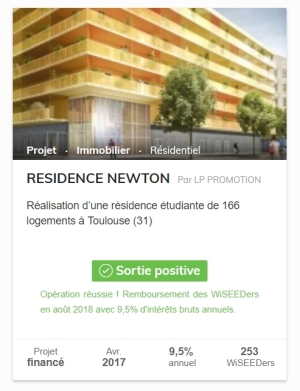 Residence Newtonl WiSEED